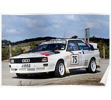 Audi Quattro Poster