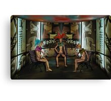 ArticulatedChattering Canvas Print