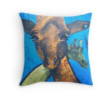 G & M Throw Pillow