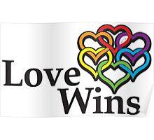 Love wins, #lovewins Poster