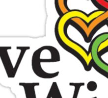 Love wins, #lovewins Sticker