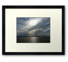 Clouds Over the Amazon River Framed Print