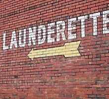 Launderette by Michael McCasland
