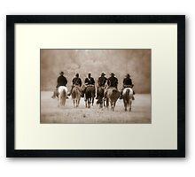 Civil War Ending Framed Print