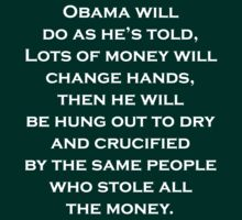 Prediction about President Obama by David Powell