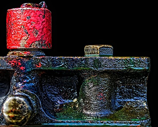 Detail from Engine 473 II by Mitchell Tillison