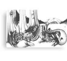 Mystical Riverbed Canvas Print