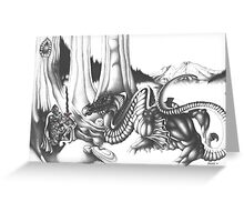 Mystical Riverbed Greeting Card