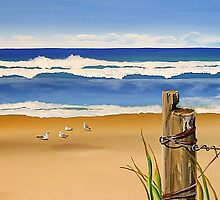 """Narrabeen Beach"" Northern beaches by Taniakay"