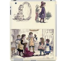 The Little Folks Painting book by George Weatherly and Kate Greenaway 0169 iPad Case/Skin
