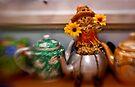 Teapot Guardian by Pene Stevens