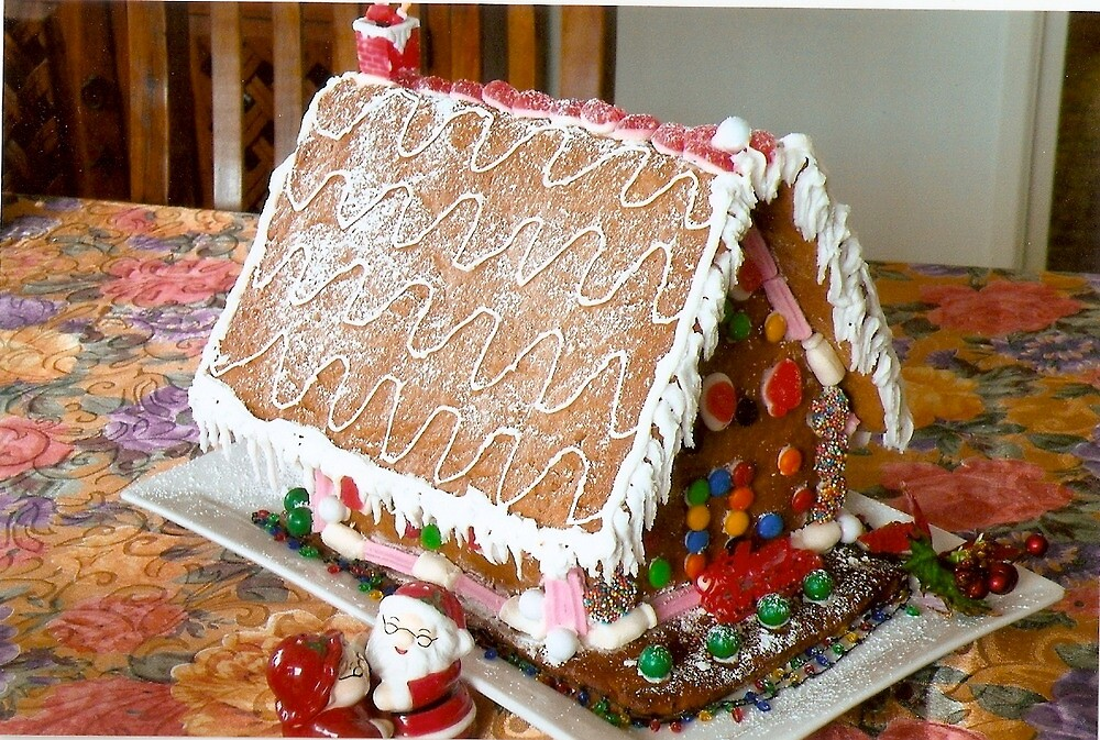 Gingerbread house by Sharon Ackerman