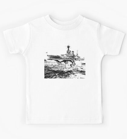 ATLAS OF THE WAVES Kids Tee
