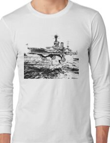 ATLAS OF THE WAVES Long Sleeve T-Shirt