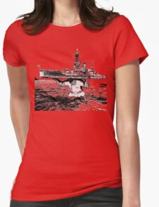 ATLAS OF THE WAVES Womens Fitted T-Shirt