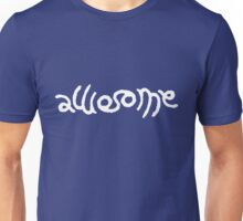 Awesome (White) Unisex T-Shirt