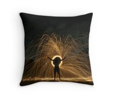 Suburban Illumination Throw Pillow