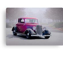 1934 Ford '5 Window' Coupe Canvas Print