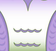 Genderqueer Pride Owl Sticker