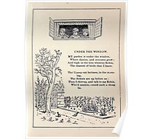 Miniature Under the Window Pictures & Rhymes for Children Kate Greenaway 1880 0007 Under The Window Poster
