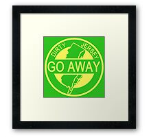 The Dirty Jersey Parkway Framed Print