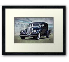 1932 Pierce Arrow Club Brougham Framed Print