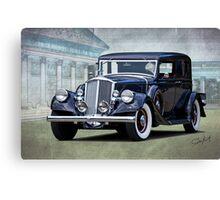 1932 Pierce Arrow Club Brougham Canvas Print