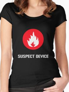 Suspect Device Women's Fitted Scoop T-Shirt