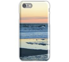 Atlantic Ocean Beach In The Morning - Walk With Me | Smith Point, New York  iPhone Case/Skin