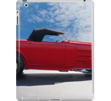 1932 Ford 'Top Up' Roadster iPad Case/Skin