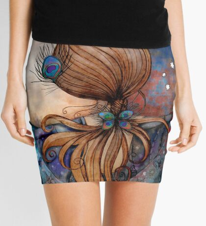 Dancing with the Moon Mini Skirt