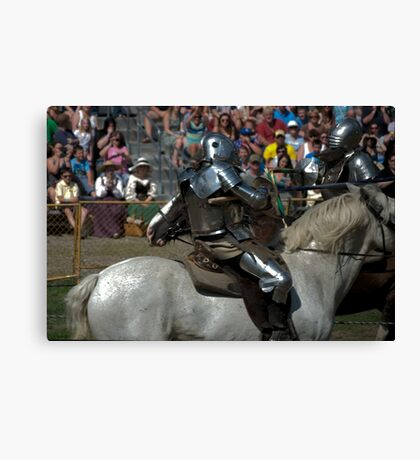 apposing forces Canvas Print