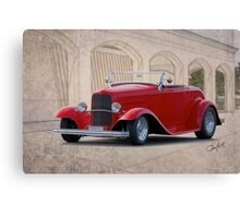 1932 Ford 'Full Fender' Roadster Canvas Print