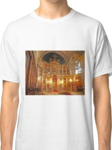 Inside the Orthodox Cathedral of St George, Novi Sad Classic T-Shirt