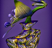 Agapanthus in Motion by Dianne English