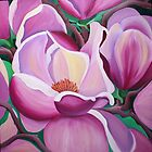 magnolia bloom by marlene veronique holdsworth
