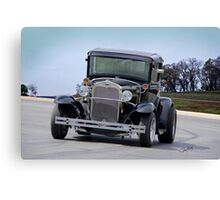 1930 Ford Model A Coupe Canvas Print
