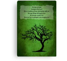 The Hanging Tree Canvas Print