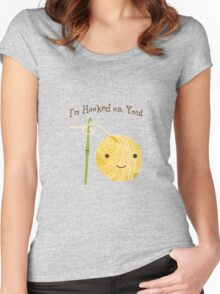 I'm Hooked on you Women's Fitted Scoop T-Shirt