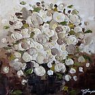 White Flowers by Trisha Lamoreaux