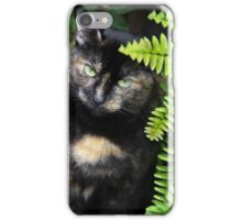 Missy, Behind the Fern iPhone Case/Skin