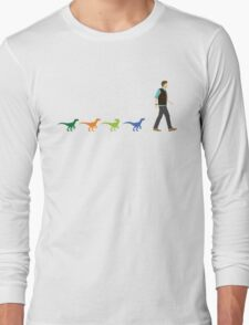 A Walk In The Park (Raptor Squad) Long Sleeve T-Shirt