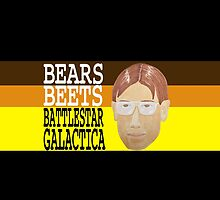 Bears Beets Battlestar Galactica by pickledbeets
