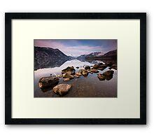 Early Morning on Ullswater Framed Print