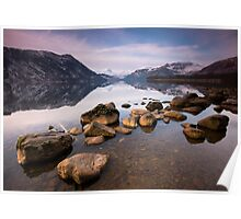 Early Morning on Ullswater Poster