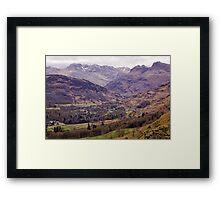 Lakeland View Framed Print