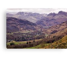 Lakeland View Canvas Print