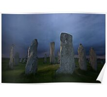 The Standing Stones of Callanish Poster
