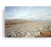 Beautiful Burren Landscape Canvas Print