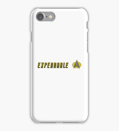 STAR TREK EXPENDABLE iPhone Case/Skin